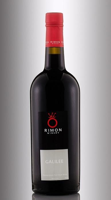 фото бутылки гранатового вина римон