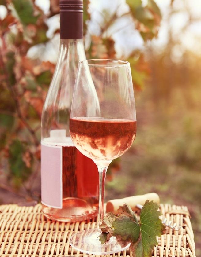 какие бывают розовые вина