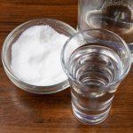 лечение водкой с солью