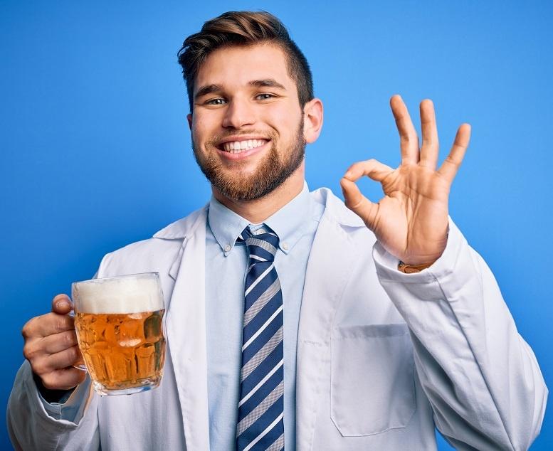 в чем польза пива для мужчин