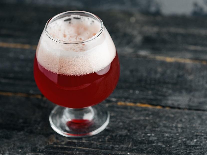 домашнее вишневое пиво