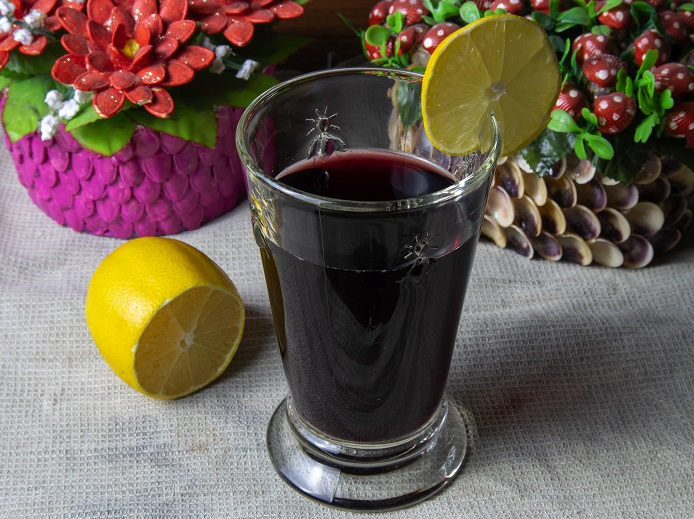 фото горячего вина с водой