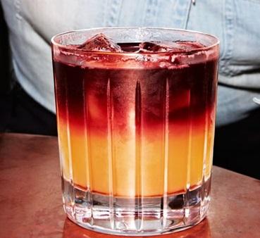 фото коктейля Нью-Йорк сауэр