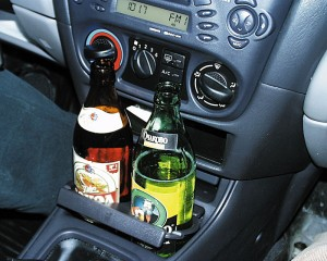 после пива за руль
