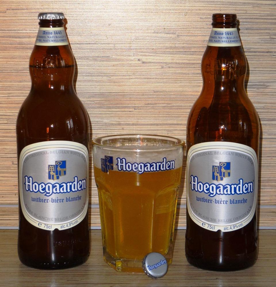 фото бутылки пива хугарден