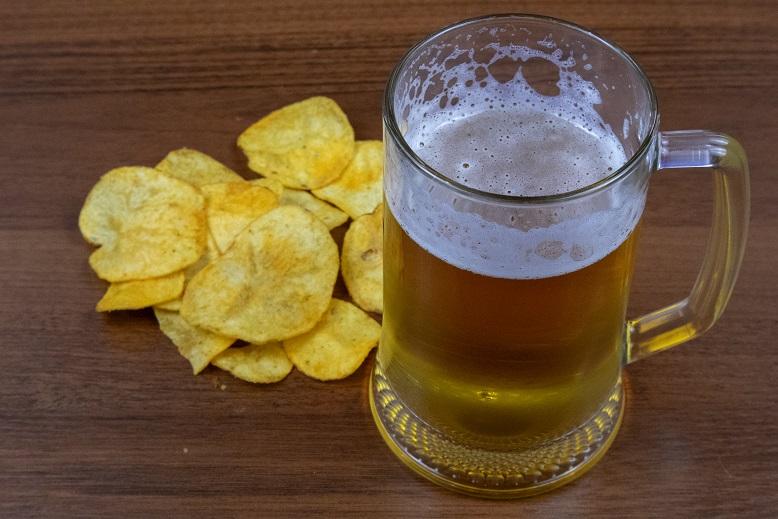 фото пива с чипсами