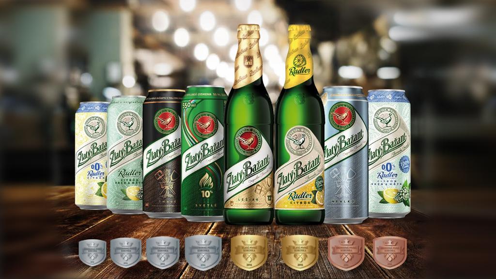 фото видов пива Златый Базант