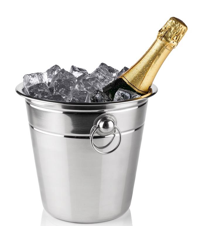 фото как нужно охлаждать шампанское
