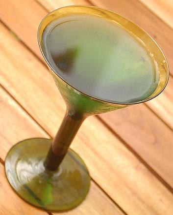 абсент с мартини