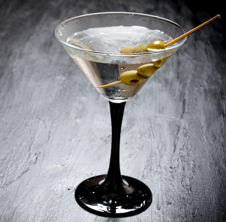 сухой мартини с водкой