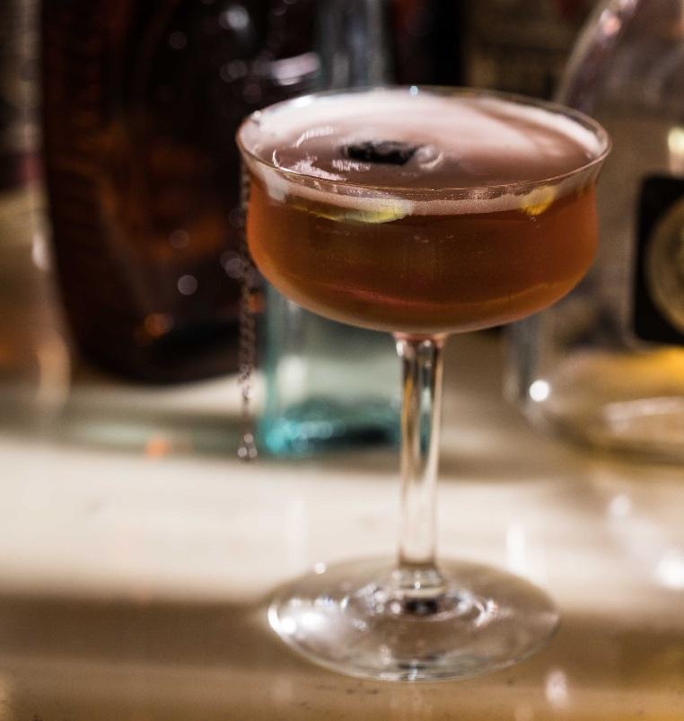 мартини с коньяком и тоником