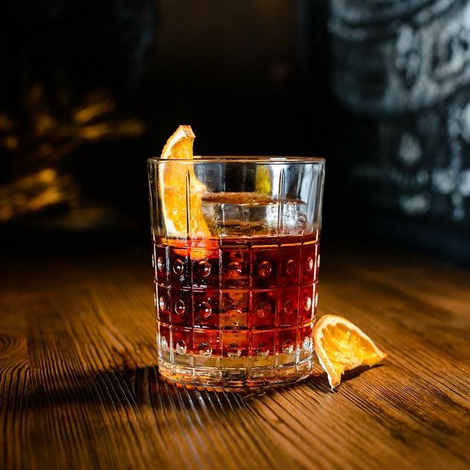 коктейль с мартини Негрони