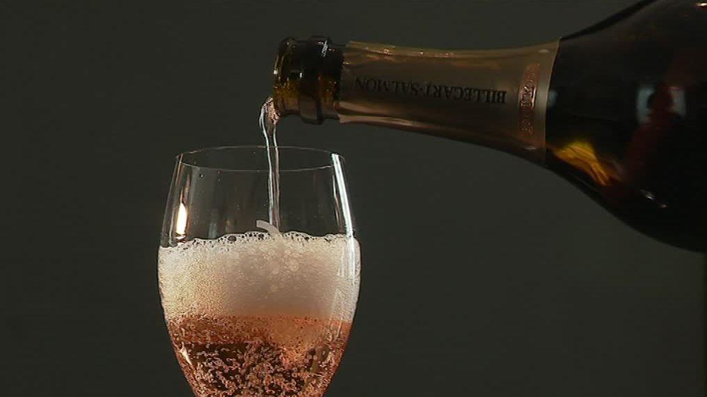 как правильно пить розовое шампанское