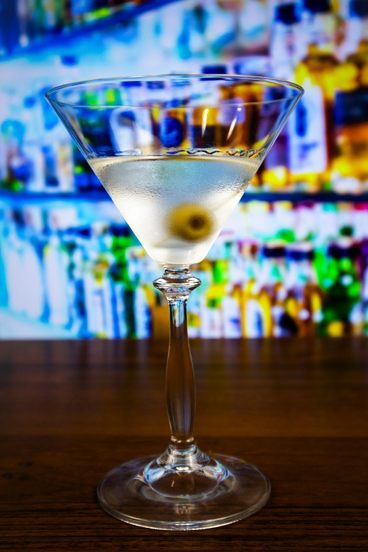 фото коктейля сухой мартини