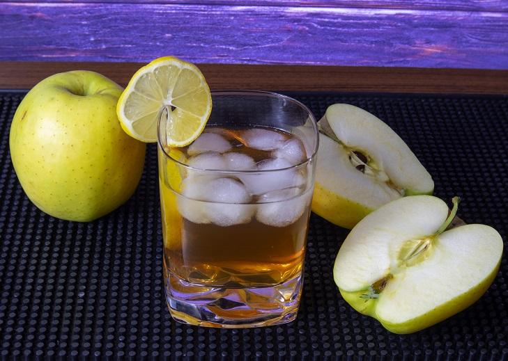 фото коктейля яблочный виски