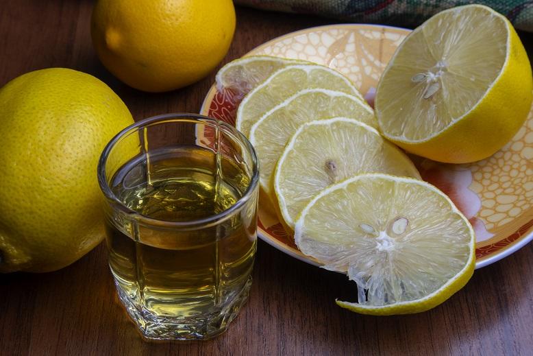 фото настойки водка с лимоном