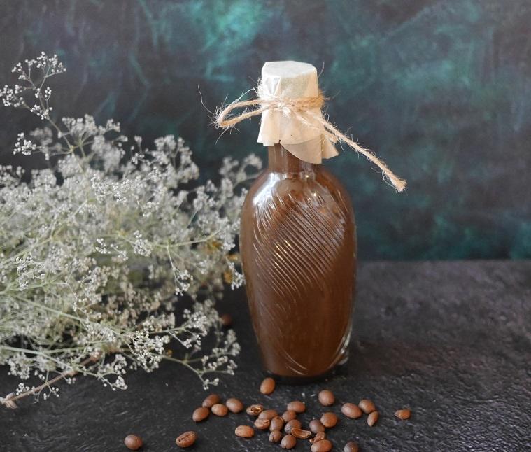 классический домашний кофейный ликер фото