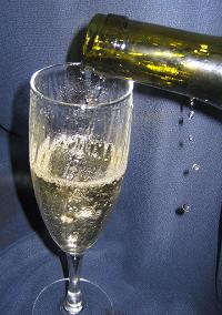сделать шампанское