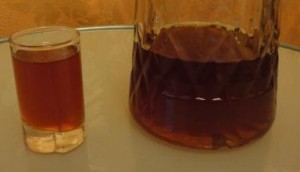 водка на кедровых орехах