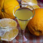 фото домашнего апельсинового ликера