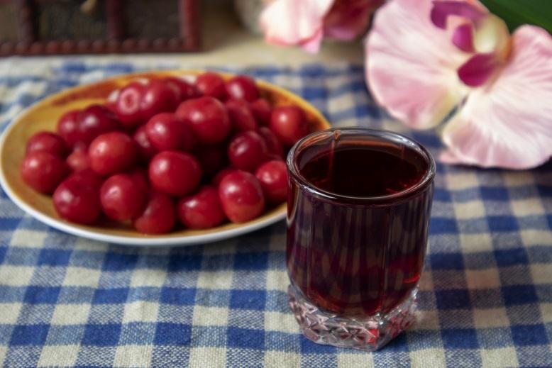 вишневая наливка без водки