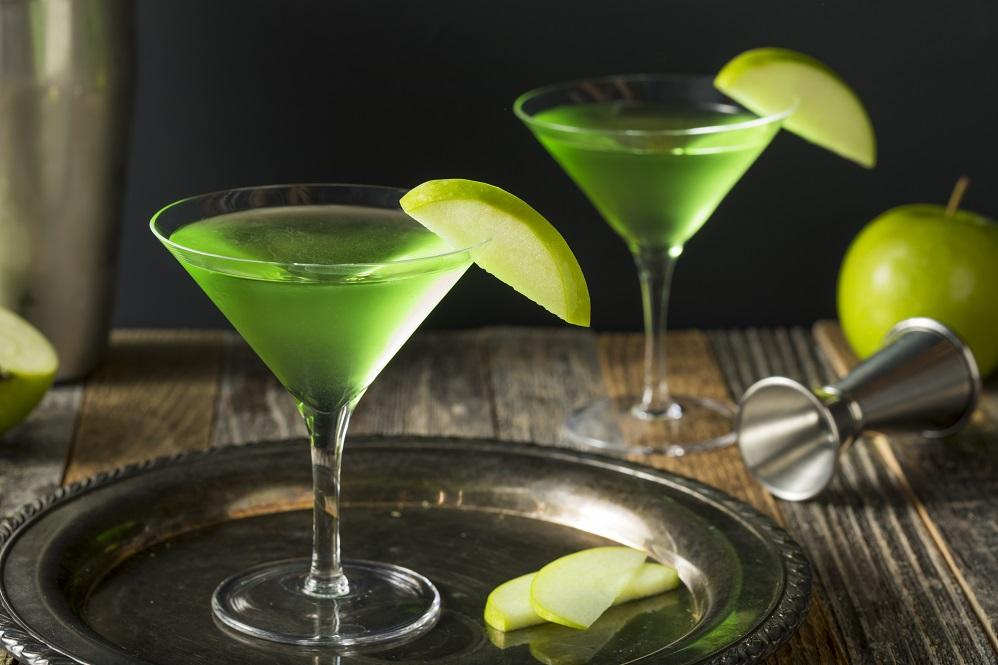 фото домашнего коктейля эплтини