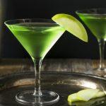 фото коктейля яблочный мартини
