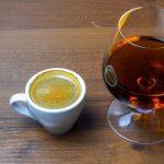 фото кофе с коньяком эспрессо