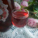 домашний ликер из лепестков розы