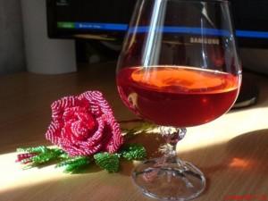 сделать ликер из роз