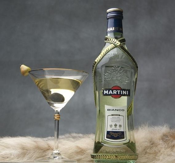 с чего пить мартини