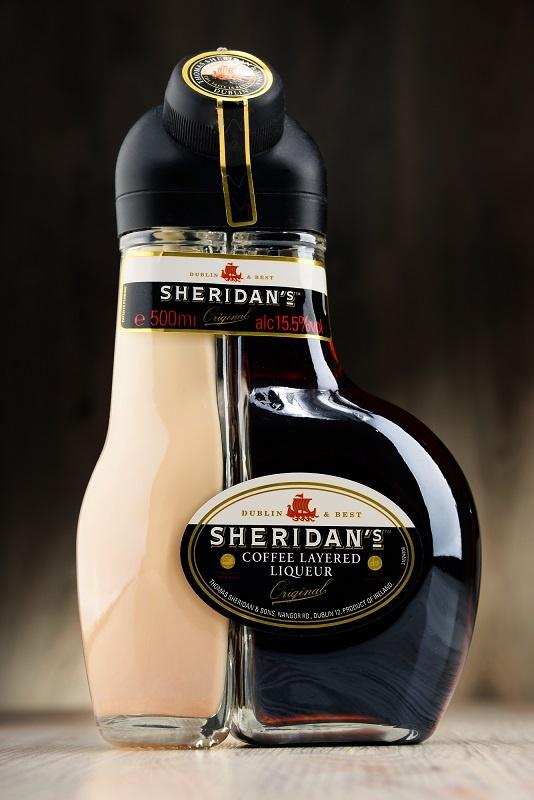 фото бутылки кофейно-шоколадного ликера Шериданс