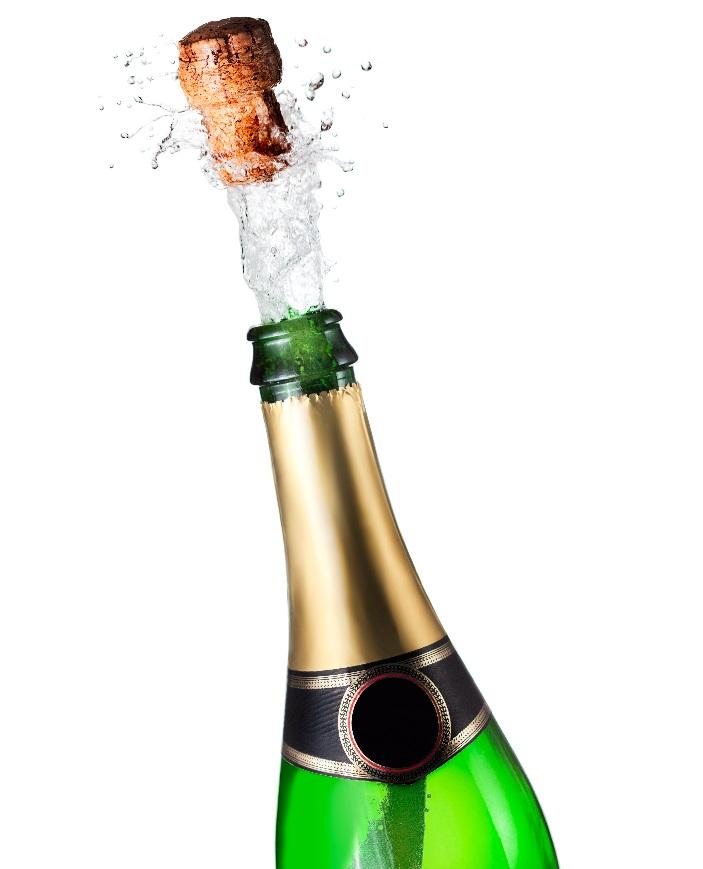 фото как открывать бутылку шампанского