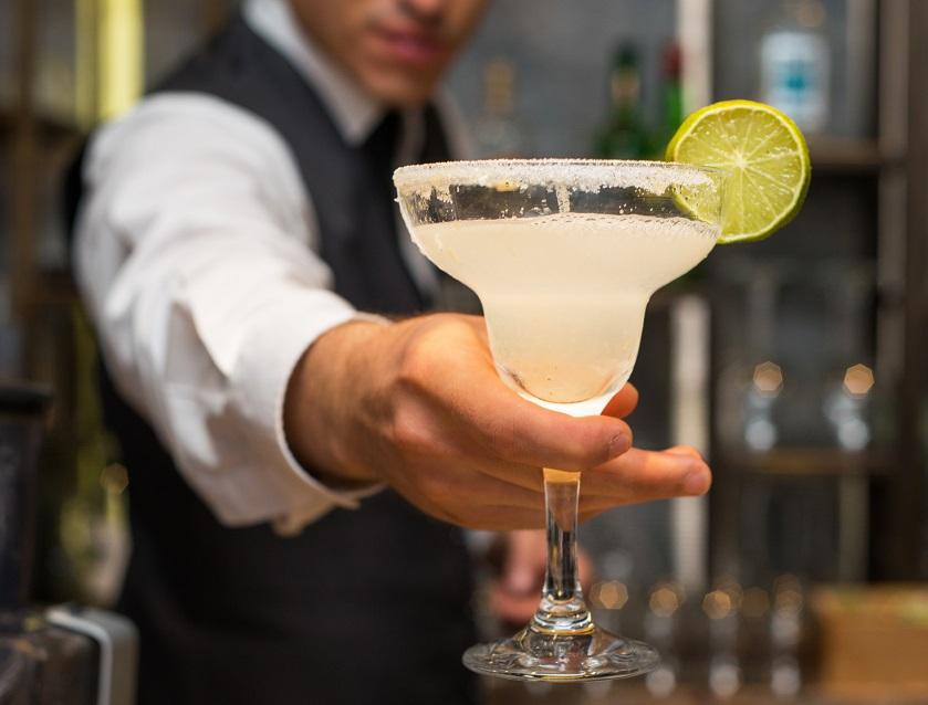 фото коктейля с текилой Маргарита
