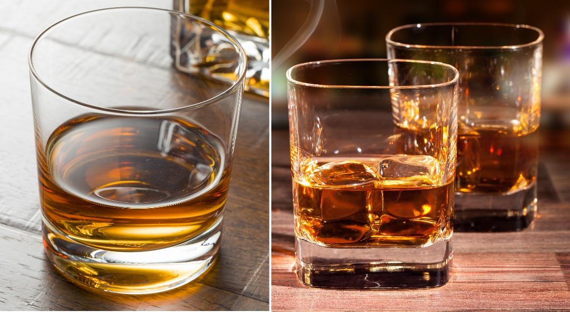 фото правильных бокалов для виски