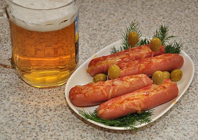 Блюда к пиву в домашних условиях