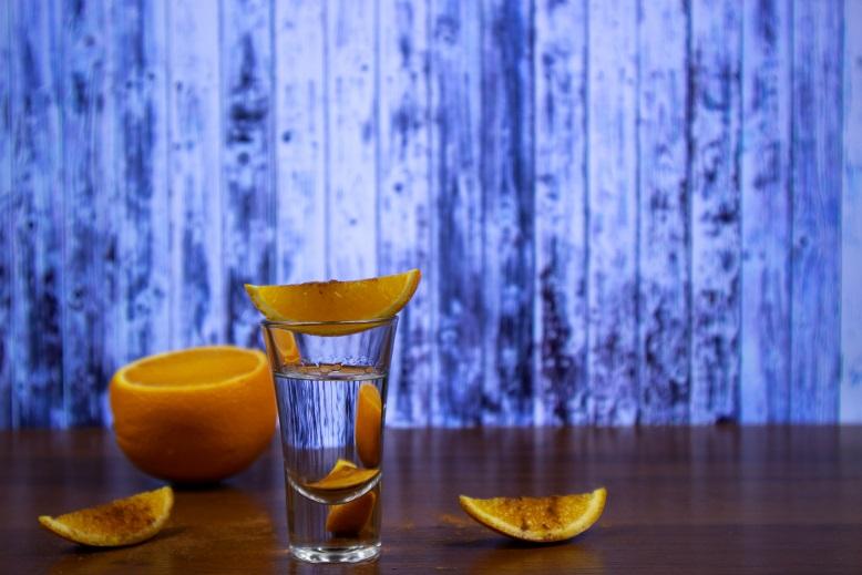 как пить текилу с апельсином и корицей