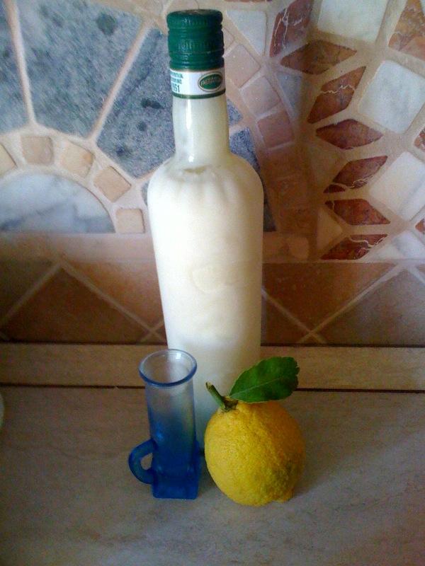 рецепт с фото кремового лимончелло