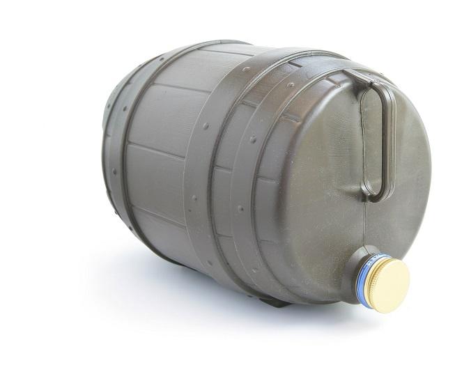 Одноразовый пластиковый кег для пива фото
