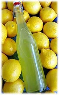 фото домашнего ликера лимончелло