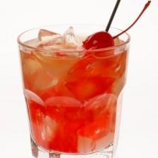 виски, ром, вишневый сок
