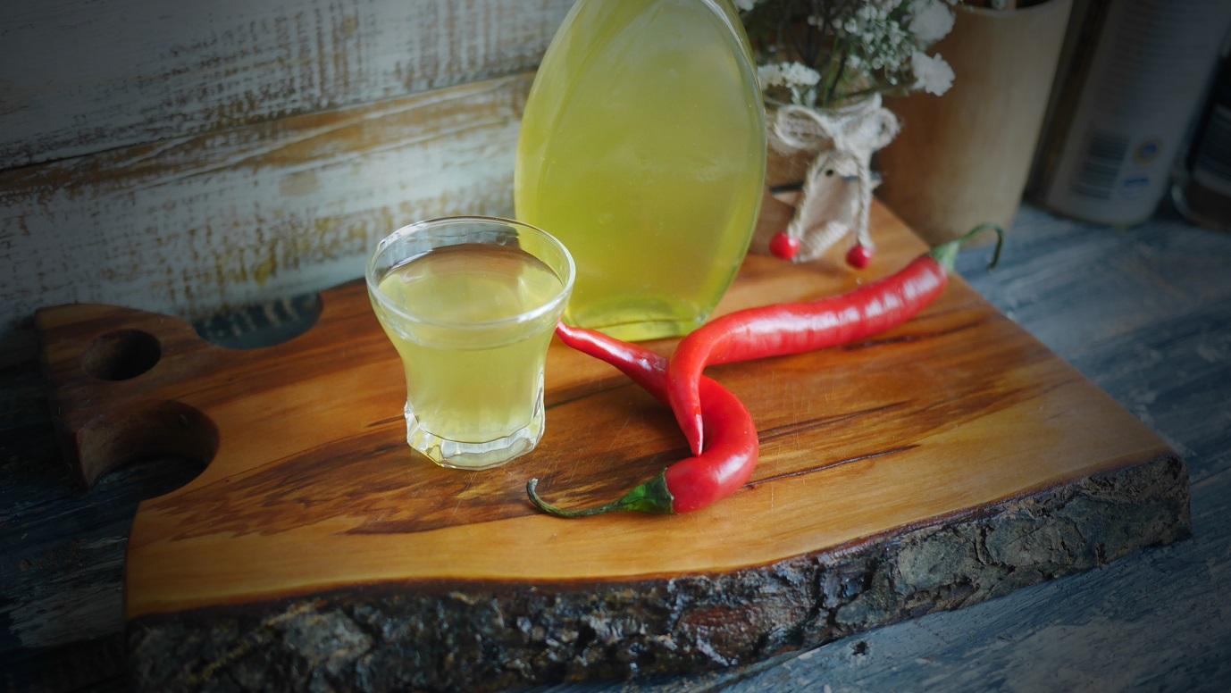 фото домашней перцовки с медом