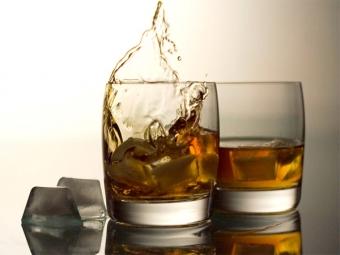 виски со льдом и лимоном рецепт