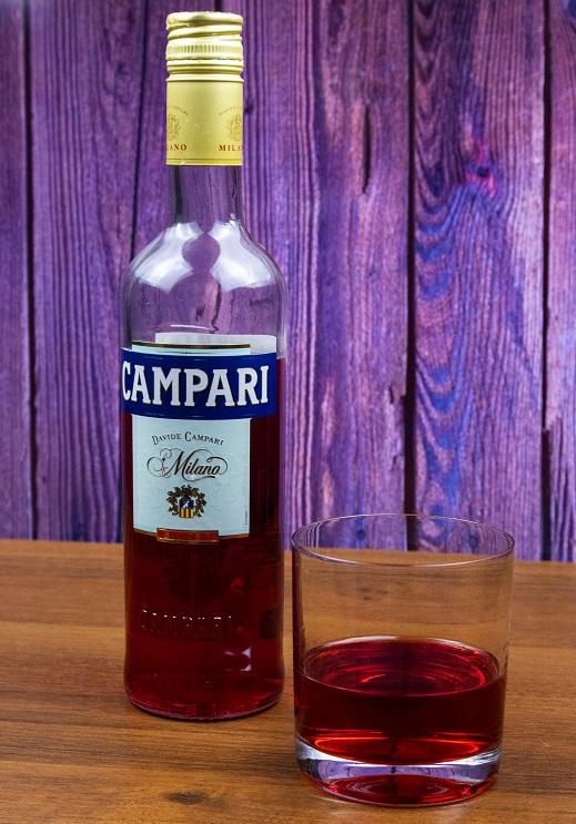 фото алкогольного напитка кампари