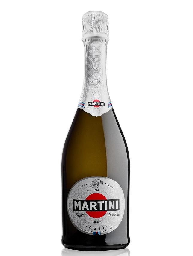 фото бутылки игристого вина мартини асти