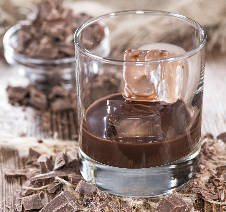 фото коктейля шоколадный коньяк