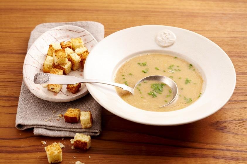 пивной суп с гренками