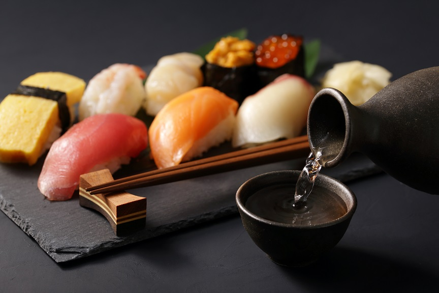 фото чем закусывать саке