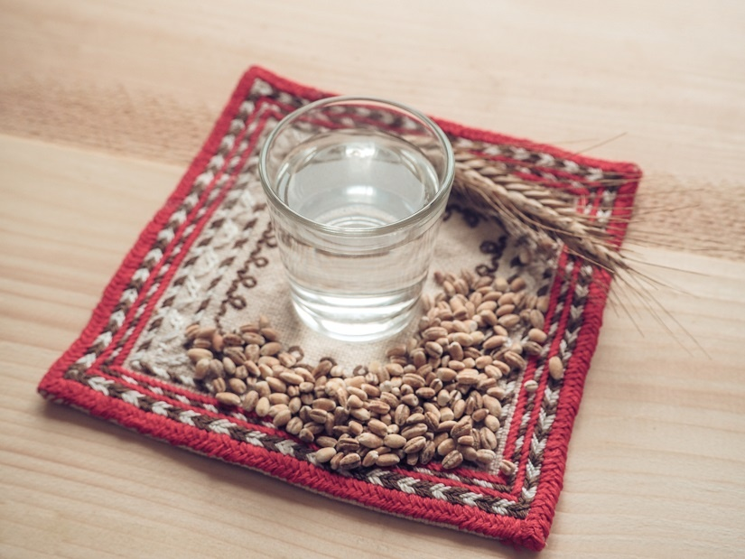 правильный самогон из пшеницы без дрожжей