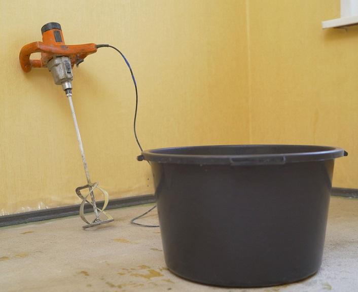 строительный миксер для измельчения яблок